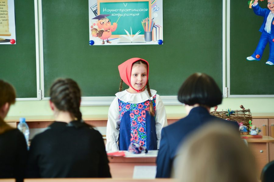 Voronezh school gives higher education