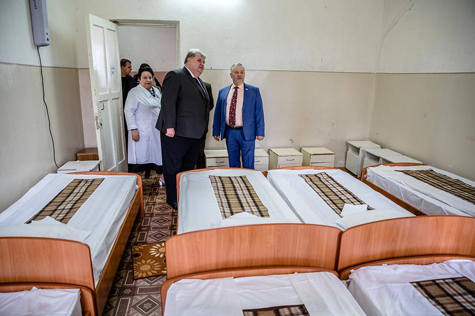 Новые кровати в детском отделении диспансера