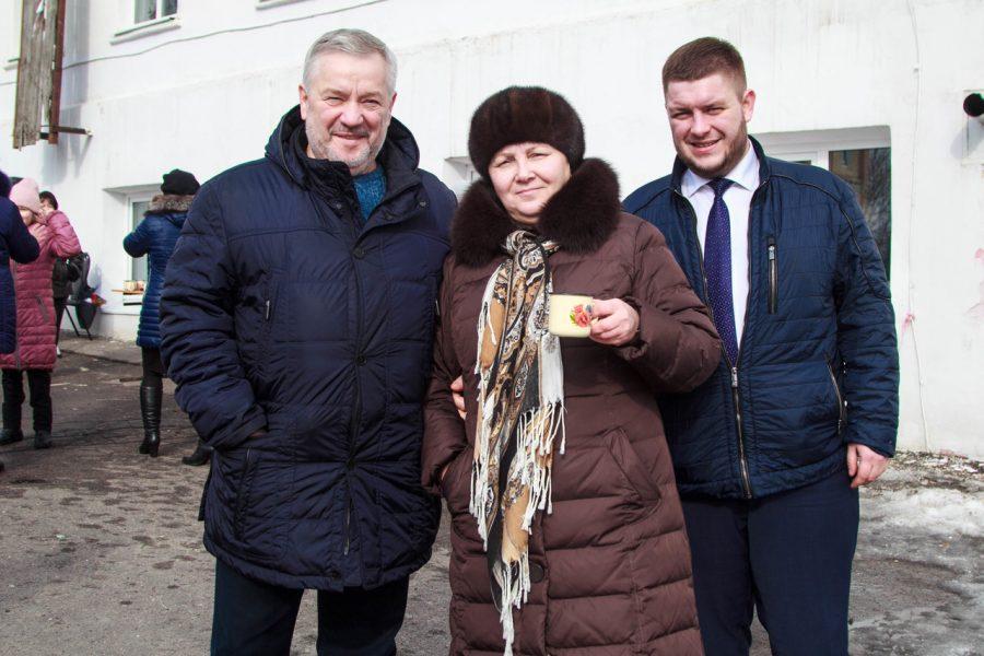 В бобровском интернате отпраздновали Масленицу