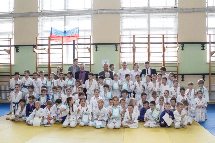 В Воронеже прошли соревнования среди юных дзюдоистов
