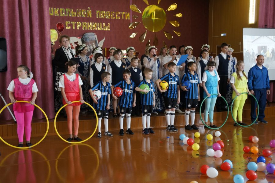 Aleksandr Zhukov, a deputy of the city Duma, congratulated Bobrovsky boarding school on its 45th anniversary